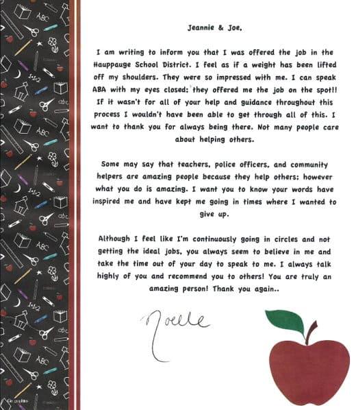 Noelle's Letter